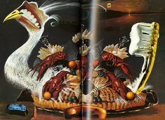 From the Surrealist Cookbook Dali 1978?