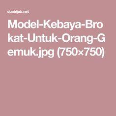 Kebaya Brokat, Model Kebaya, Orange
