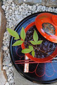 remedial spoon: Zenzai: Japanese Sweetened Adzuki Beans Dessert Soup