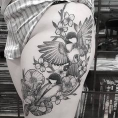 tattoos for women country - Tattoos for women - Tattoo Frauen Pretty Tattoos, Unique Tattoos, Beautiful Tattoos, Symbols Of Strength Tattoos, Celtic Tattoos, Tribal Sleeve Tattoos, Tattoo Sleeve Designs, Chickadee Tattoo, Blackwork