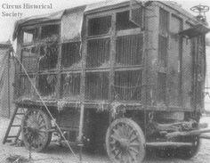 Black Diamond 1925. Al G. Barnes Circus Dog Wagon, October 8, 1931  circushistory.org