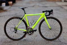 Cannondale CAAD10 neon