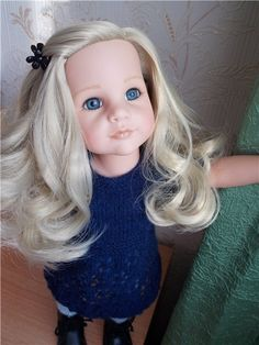 """""""Perfection is called"""" Blonde. """"My blonde Gotz / Dolls Gotz - collectible and play Gotz / Beybiki. Dolls photo. Clothing for dolls"""