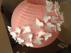14 Pink Flamingo paper lantern butterfly lantern by Butterfly Nursery, Butterfly Party, Butterfly Birthday, Butterfly Wedding, Butterfly Crafts, Diy Butterfly Decorations, Paper Lantern Centerpieces, Lanterns Decor, Paper Lanterns