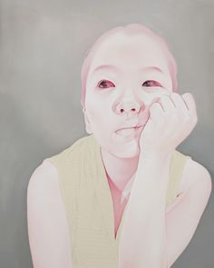 Sungsoo Kim,Melancholy, 2010-2011, Oil, acrylic on canvas