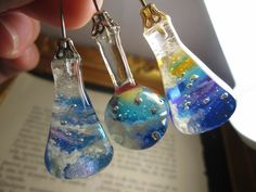 Uv Resin, Resin Molds, Resin Art, Bottle Charms, Resin Charms, Resin Jewelry, Jewelry Crafts, Diy Resin Crafts, Kawaii Accessories