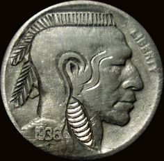 American Coins, American Indians, Native American, Hobo Nickel, Coin Art, Antique Coins, Greek Art, Indigenous Art, Gold Coins
