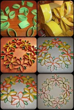 30 DIY Easy to Make Craft Ideas With Toilet Paper Rolls 43 - Viral Decoration Toilet Paper Roll Art, Toilet Paper Roll Crafts, Cardboard Crafts, Diy Paper, Cardboard Rolls, Cardboard Playhouse, Cardboard Paper, Paper Towel Roll Crafts, Towel Crafts
