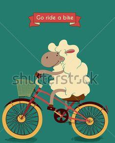 SHEEP ON CYCLE