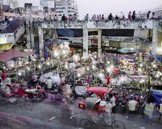 Martin Roemers: Metropolis1. New Market, Dhanmondi, Dhaka,...