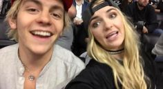 Ross and Rydel