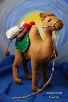 Poppenatelier Severine: Drie koningen in de zomer/ Three Kings in summer Nativity Crafts, Christmas Nativity, Christmas Animals, Felt Christmas, Christmas Crafts, Christmas Decorations, Fabric Animals, Felt Animals, Kids Market