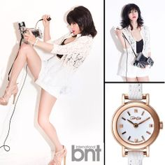 "www.bekanbell.com - [actor/ 예지원. bnt pictorial]. Elegant and Feminine timepieces from Germany ""Butterfly on your wrist"" #watch #germany #bekanbell #celebrity #fashion #pictorial"