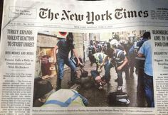 Front page of NY Times, June 17, 2013.