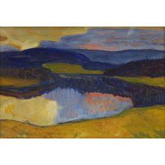 Helmer Osslund Collage Landscape, Landscape Paintings, Lappland, Nordic Art, Uppsala, Canadian Art, Paul Gauguin, Farming, Harvest