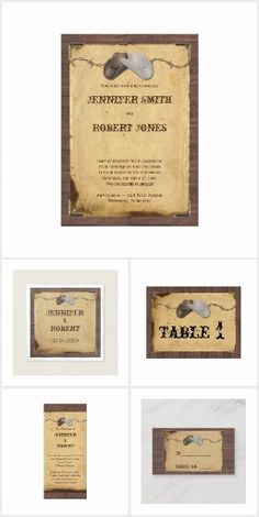 Rustic Country Cowboy Hats Wedding White Cowboy Hat, Cowboy Hats, Fashion Corner, Invitation Set, Table, Reception, Place Card Holders, Rustic, Country
