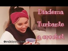DIADEMA TURBANTE A CROCHET. PASO A PASO. DIVERTIDO Y FÁCIL. - YouTube Crochet Videos, Ear Warmers, Diy And Crafts, Cross Stitch, Beanie, Lily, Hats, Youtube, Hairstyle