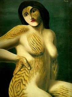 Magritte: She really has no personality of which to speak...a really wooden character!