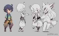 Collection of Game chibi art and cuteness Character Design References, Game Character, Character Concept, Concept Art, Chibi Characters, Cute Characters, Character Illustration, Illustration Art, Creature Design