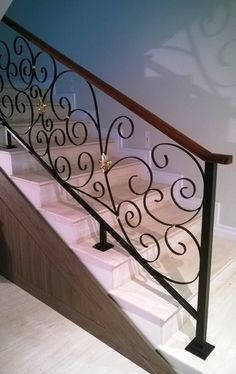 9 Best Handrails Images Iron Staircase Stairs Wrought Iron