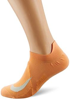 Nike Spark Lightweight No Show Running Socks 1 Pair (Fuel Orange/Teal Tint, (M) (W) Running Socks, Nike Running, Ideal Fit, S Star, Online Boutiques, Nike Men, Teal, Pairs, Booty