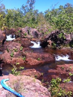 Beautiful rock pools between Florence and Buley, litchfield park. Well worth the walk!