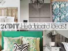 20 DIY Headboard Ideas!