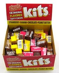 I loved these candies.  They were sold in the school store in the afternoons and I would eat them on the school bus going home.  One penny bought 1 pak.