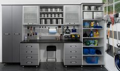 Take a look at this slideshow for some #garage #organization #inspiration!