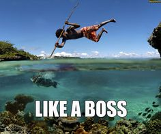 Fishing~how cool would this be.