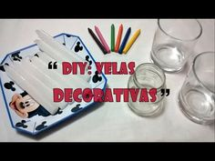 DIY: Velas Decorativas/Personalizadas - YouTube Youtube, Diy Crafts, Make It Yourself, Blog, Instagram, Scented Candles, Meanings Of Names, Handmade Candles, Organizers