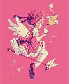 """You will definitely be alright!""  Another print idea dedicated to my most beloved daughter! (...because I missed her birthday. //hits self) #cardcaptorsakura #sakurakinomoto"