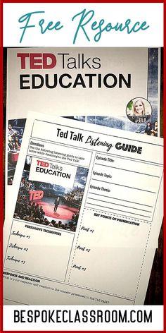 Free Resource from BespokeClassroom.com