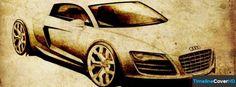 Vintage Sketches Audi R8 Facebook Cover Timeline Banner For Fb99 Facebook Cover