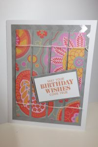 card by Pam Korte using CTMH Dream Pop paper.... (change sentiment)