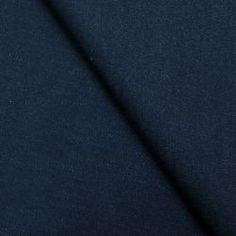 Jean's coton souple bleu pétrole