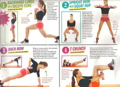 Seventeen Magazine workout. | last one for tonight. promise.