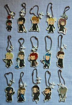 Kingdom Hearts Organization 13 XIII charm  Phone charm / by knil, $5.00