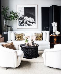 How+to+Craft+a+Black+and+White+Space+That's+Anything+But+Boring+via+@MyDomaine