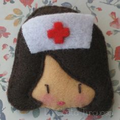 Nurse Brooch Enfermera
