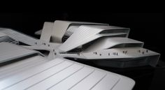 Image 6 of 15 from gallery of Beijiao Sports Center / Decode Urbanism Office. Courtesy of Decode Urbanism Office Architecture Magazines, Architecture Drawings, Concept Architecture, Futuristic Architecture, Architecture Design, Rhino Architecture, Factory Architecture, Library Architecture, Industrial Architecture