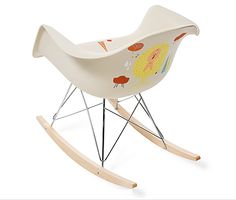 5 Artist Painted Eames Rockers Are The Bait In Herman Miller's Design For You Contest - if it's hip, it's here