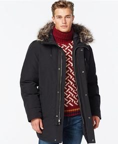 MICHAEL Michael Kors Hooded Snorkel Parka - Coats & Jackets - Men - Macy's