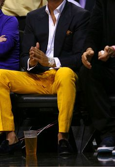 Bold pants