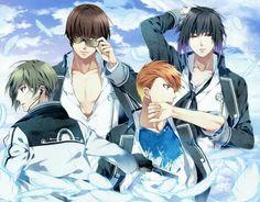# Norn9 # Anime # Otome # Itsuki Kagami # Natsuhiko Azuma # Masamune Toya # Ron Muroboshi