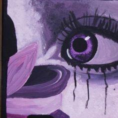 Eigengemaakte acryl schilderijen uit de collectie magic eyes