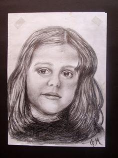 ΦΩΤΕΙΝΗ ΖΩΓΡΑΦΙΚΗ_ Φωτεινή Μάμαλη: Παιδικό πορτραίτο με μολύβι