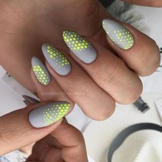 Unique Acrylic Almond Nails Designs For You In Summer Nail Art Connect : Uniqu - Care - Skin care , beauty ideas and skin care tips Neon Nails, Matte Nails, Acrylic Nails, Almond Nails Designs, Nail Designs, Hair And Nails, My Nails, Gel Nails At Home, Manicure Y Pedicure