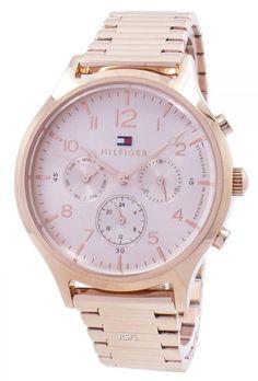 cc0b283561f Montre Tommy Hilfiger Emmy analogique Quartz 1781873 féminin Tommy Hilfiger  Watches