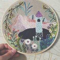 @momo_needle #ricamo #embroidery #broderie #bordado #handembroidery #needlework